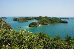 Hundred Islands in Luzon, Philippines